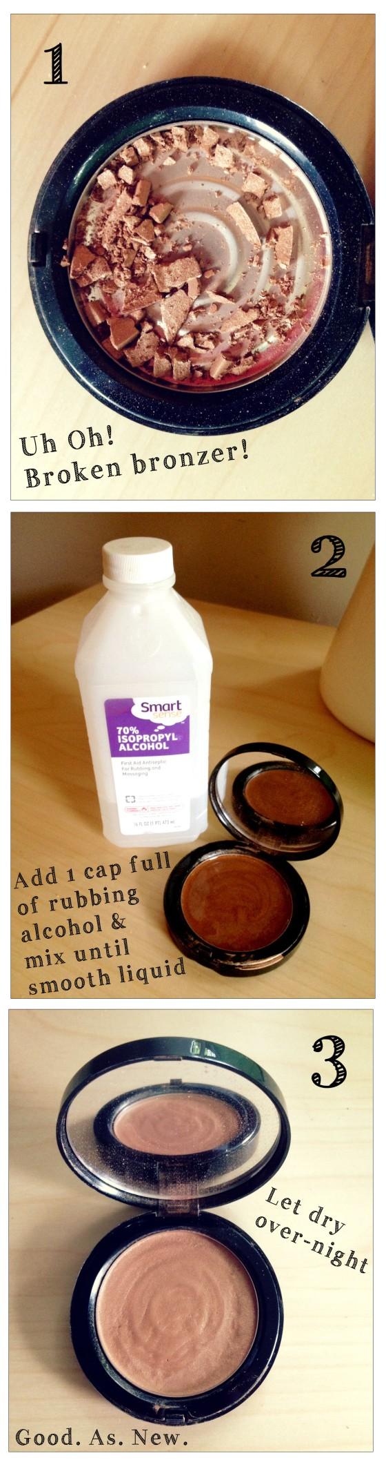 3 Steps To Fix Your Broken Makeup